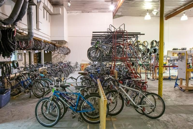 We sell a few of our bicycles to help fund our refurbishing work of the hundreds of bikes we donate.