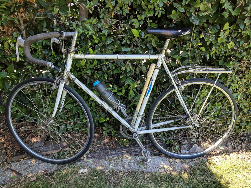 Windsor Carrera Sport steel vintage road bike. photo: original donor